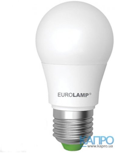 Лампа LED E27 EuroLamp 50000h Led eco A50 (7,0W/3000 LED-A50-07273(D))